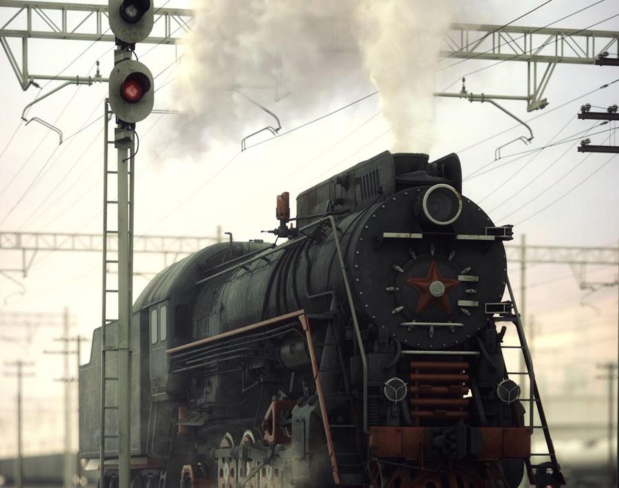 Steam Travelerby Andrew Averkin