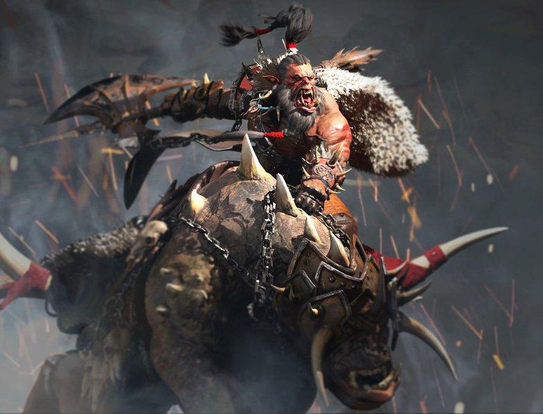 grommash orc warrior fantasy