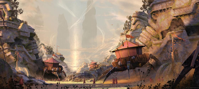 Large mechanical giants