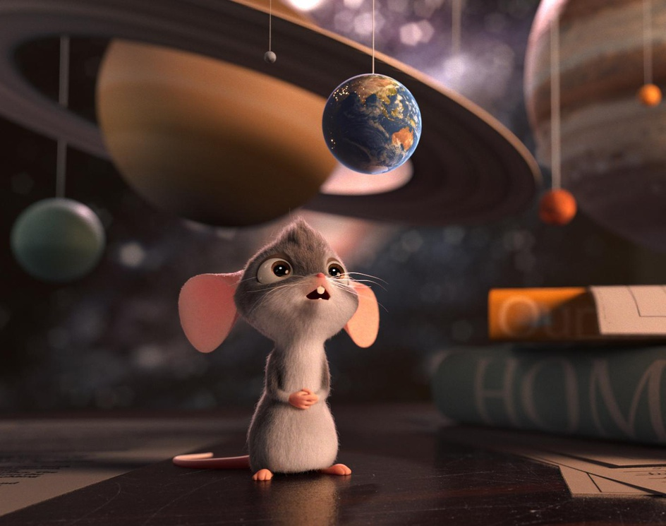 The Little Curious Mouseby Antonisfyl