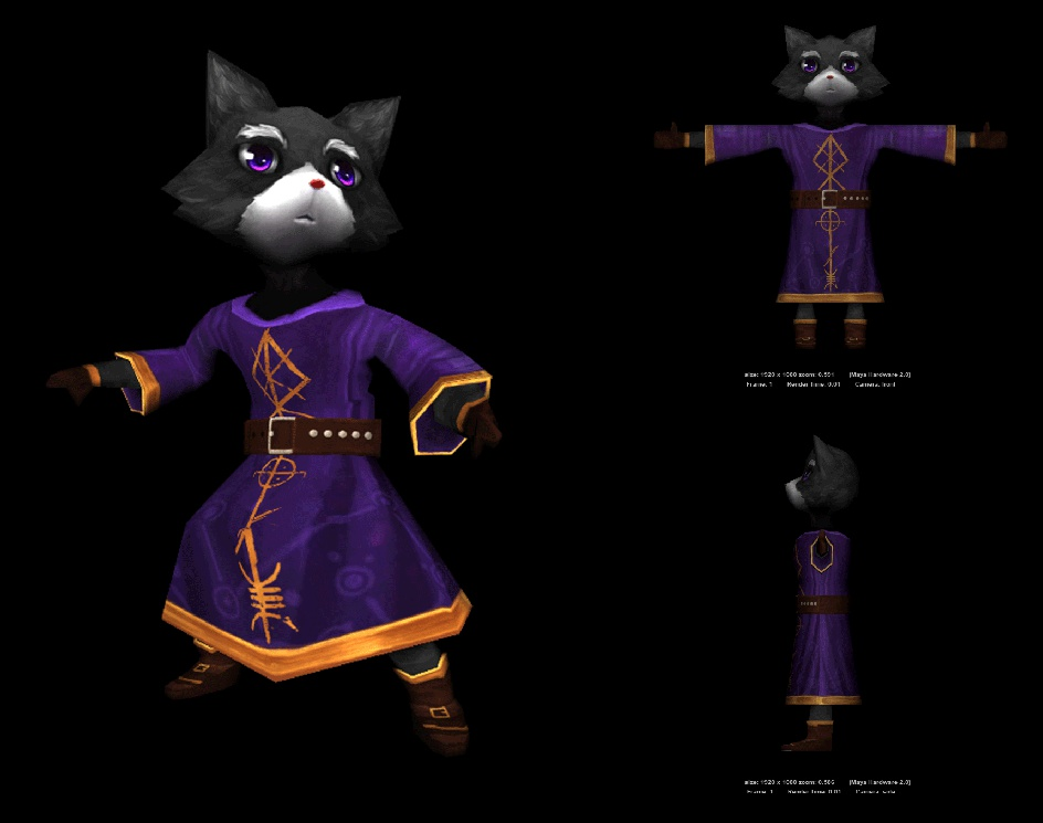 The wizard catby Alexandre Augusto