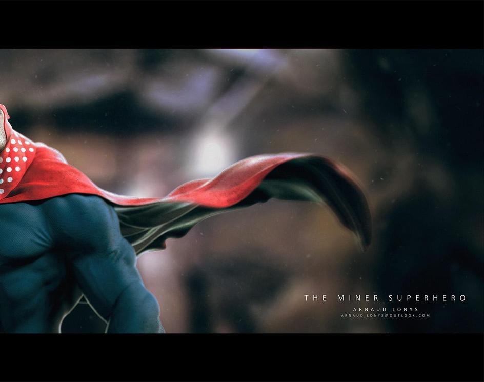 The miner superheroby ArnaudLonys
