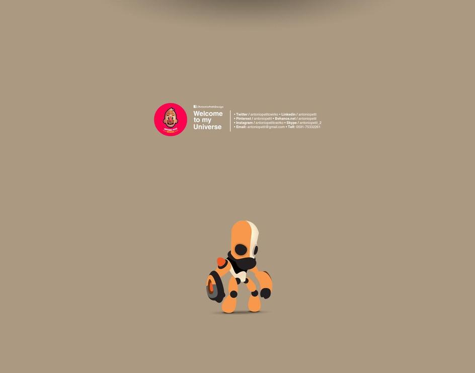 3d Character Illustrationsby Antonio Petit