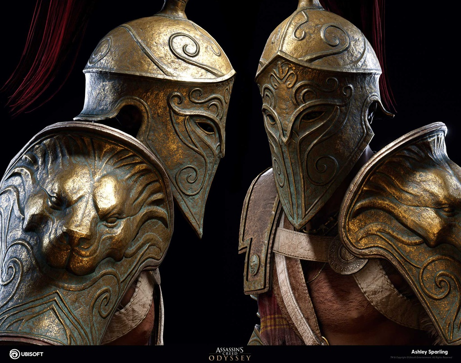 Gladiator Outfit - Assassin's creed odysseyby ashleysparling
