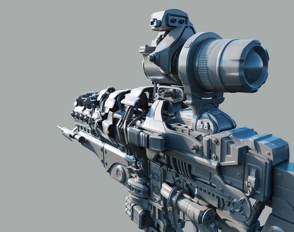 'Deinognosis' Heavy Gauss Rifle Prototypeby Nelson R Junior