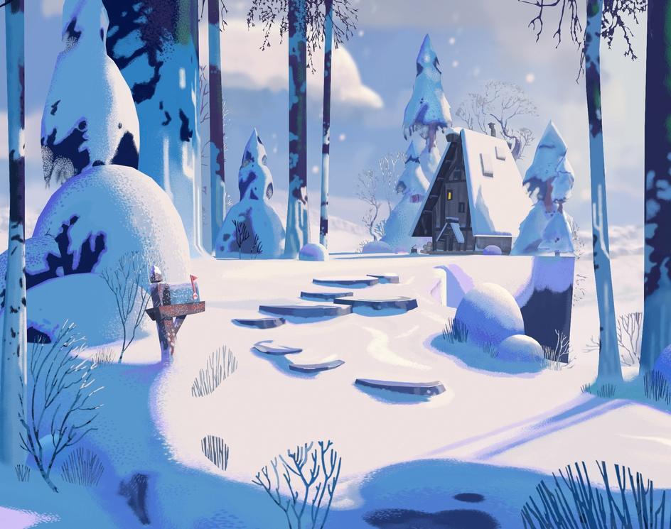 3D Winter Wonderlandby Arthur Sarah
