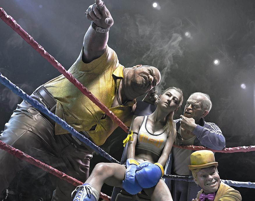 Fight in the darkby artsunshine