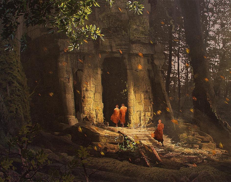 Ancient Templeby Ritunjoy Hazarika