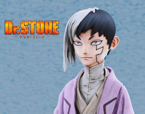 Dr. Stone Fan Artby Nicolas3d3