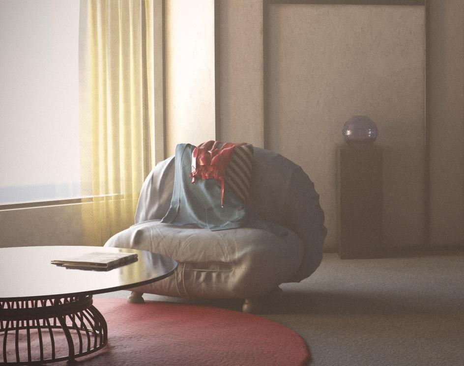 Atomic Blonde Neon Room / Morning Sceneby Sushil Suryavanshi