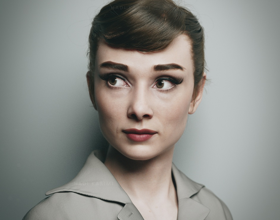 Audrey Hepburnby Hadi Karimi