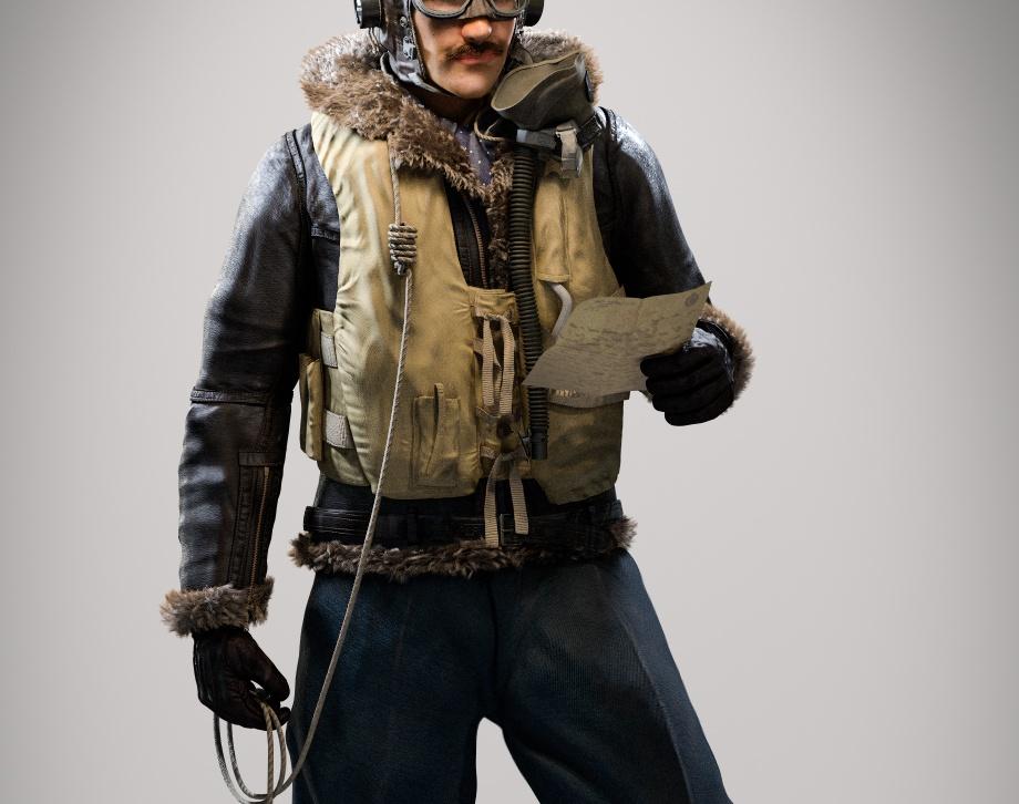 WW II Aviatorby Madushan Wenuranga