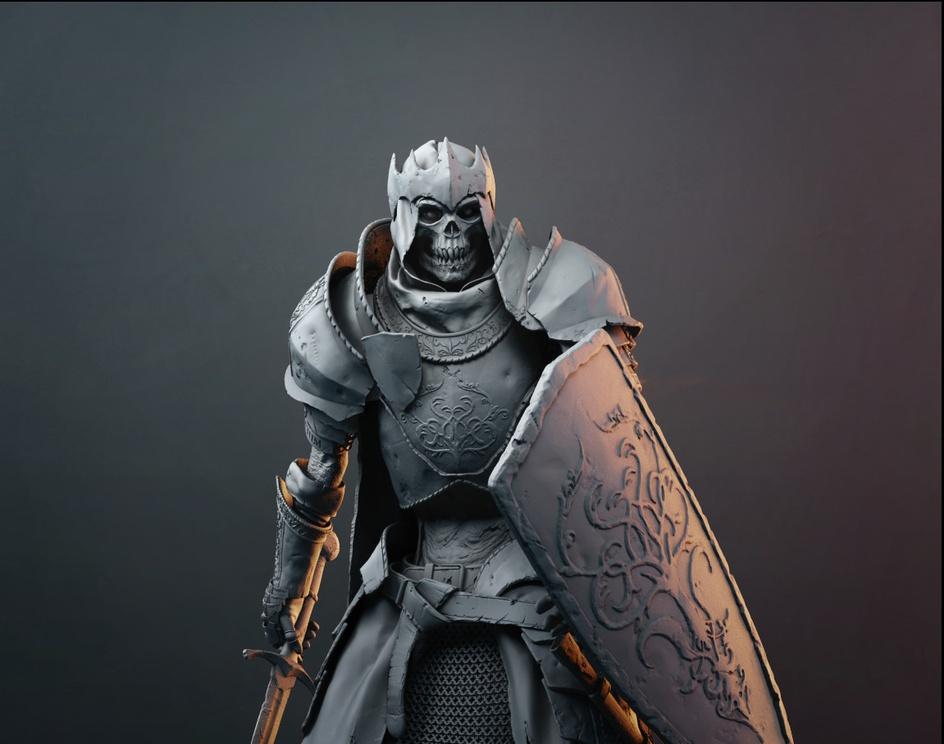 Undead Knightby Maciej