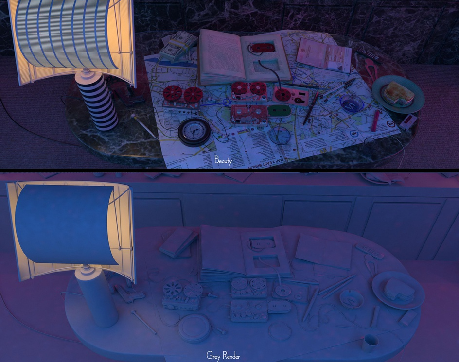 Atomic Blonde Neon Room / Breakdownby Sushil Suryavanshi