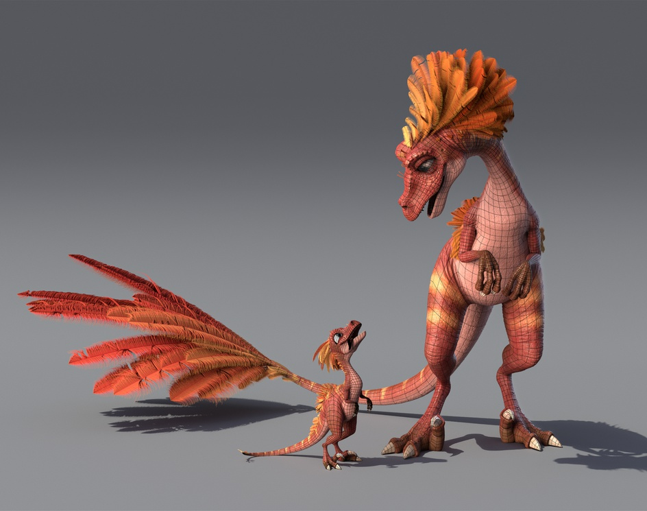 Raptor Familyby Alexandre Mougenot