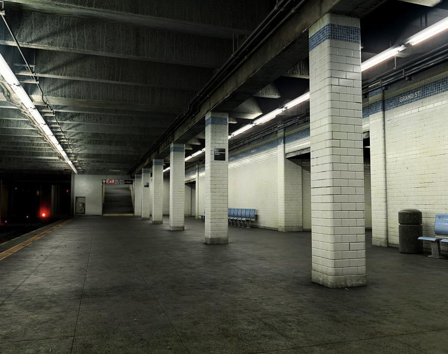 Grand St. Subway Stationby bakho