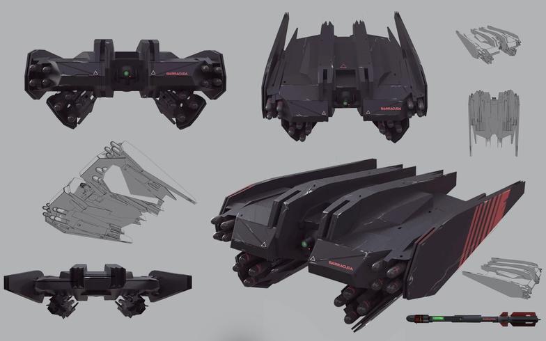 alien vehicle technology advanced futuristic model