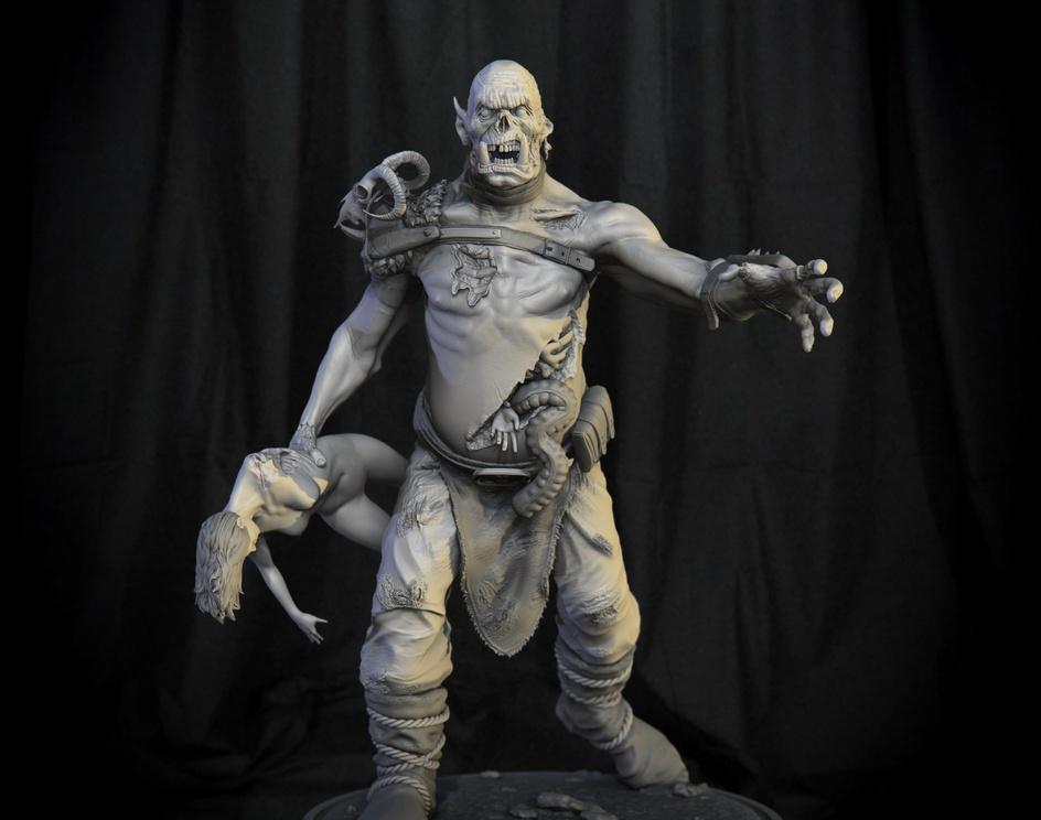 Ork Zombieby William Mitnick