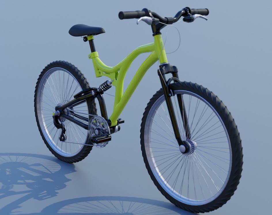 Mountain Bikeby Blaine Fox
