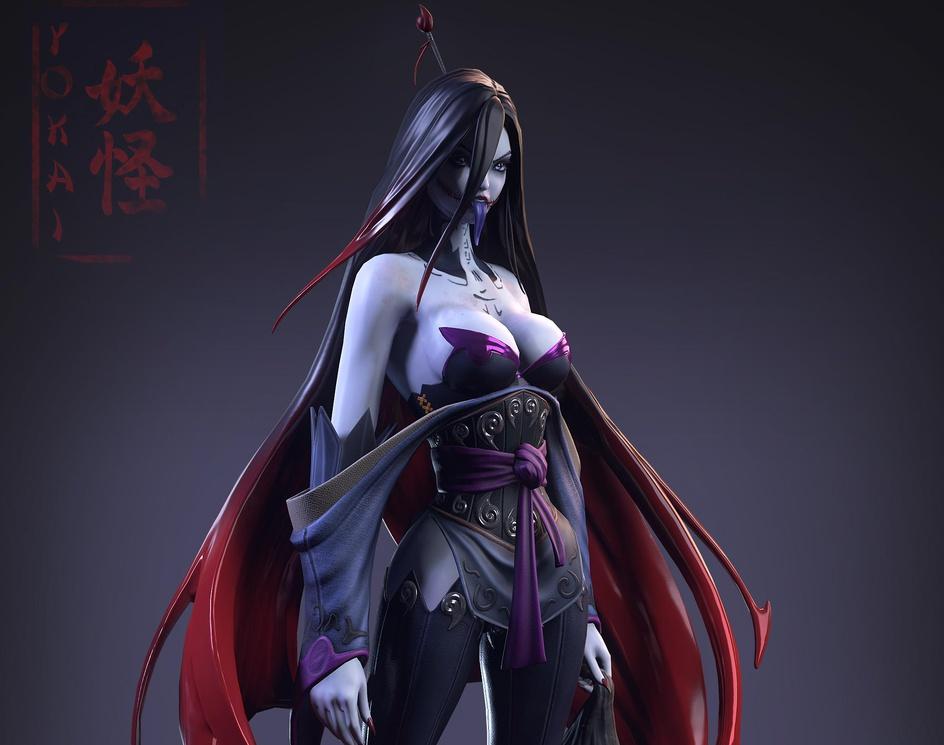 Feudal Japan: The Shogunate: Yokai (Game Art Challenge)by KottishKinsky