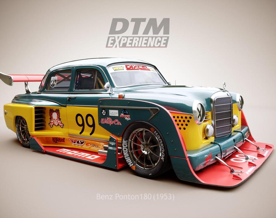 BenzPonton DTM raceingby mohammadghadimi