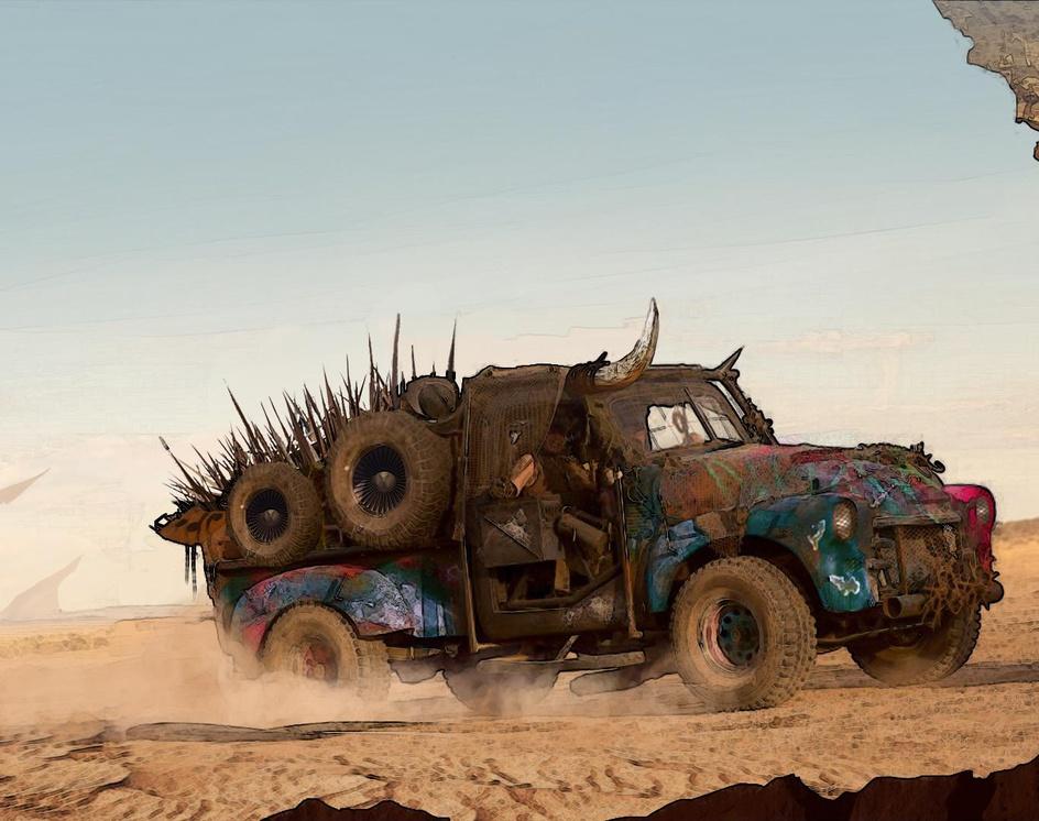 Desert vehicleby Randi Sánchez Verduga