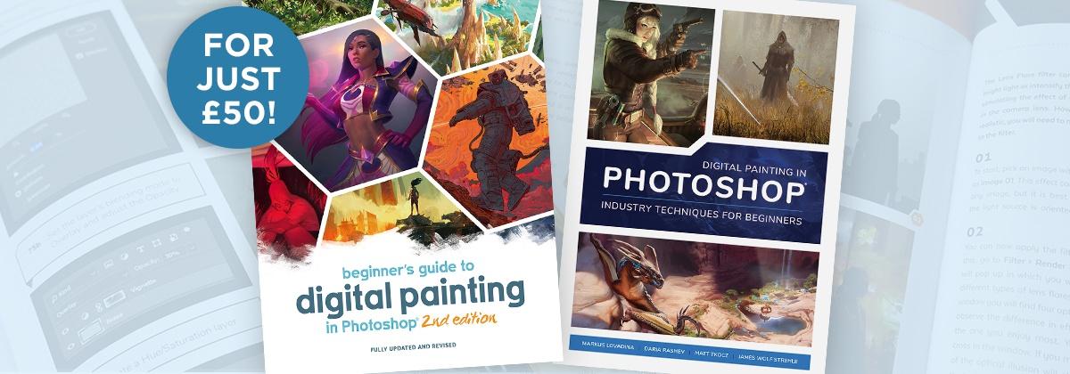 digital painting drawing design book 3dtotal deal