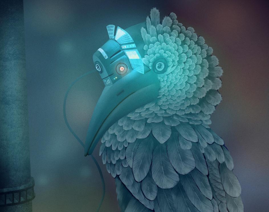 Cyber Birdby Oleg Grecu