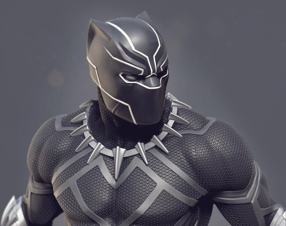 Black Panther Concept Artby Rafael Mustaine