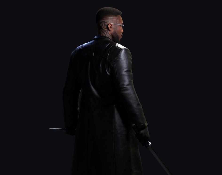 Blade - Mahershala Aliby Melvin Okoronkwo