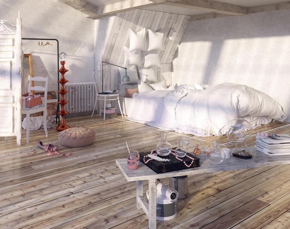 Ballerina Loft bed viewby Valery