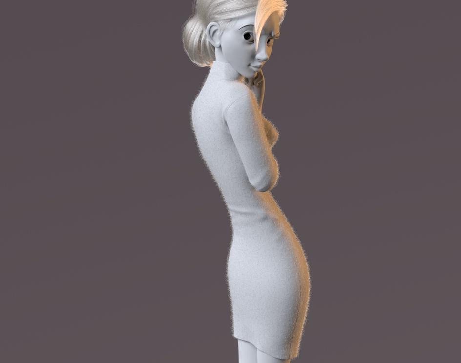 Blonde Girl Concept by Brittany Myersby cellison