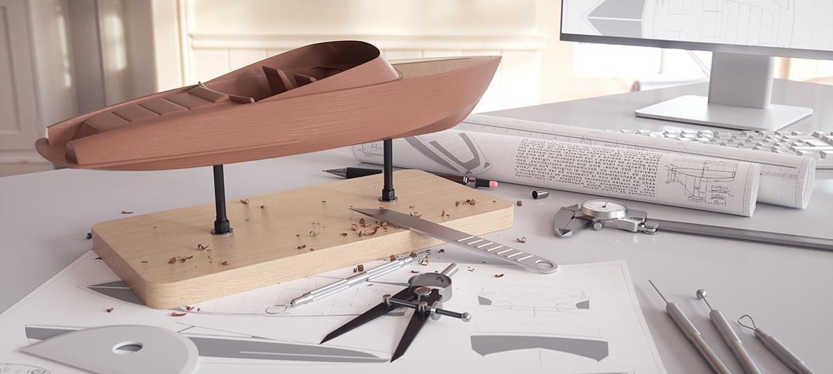 kevin boulton boat 3d model