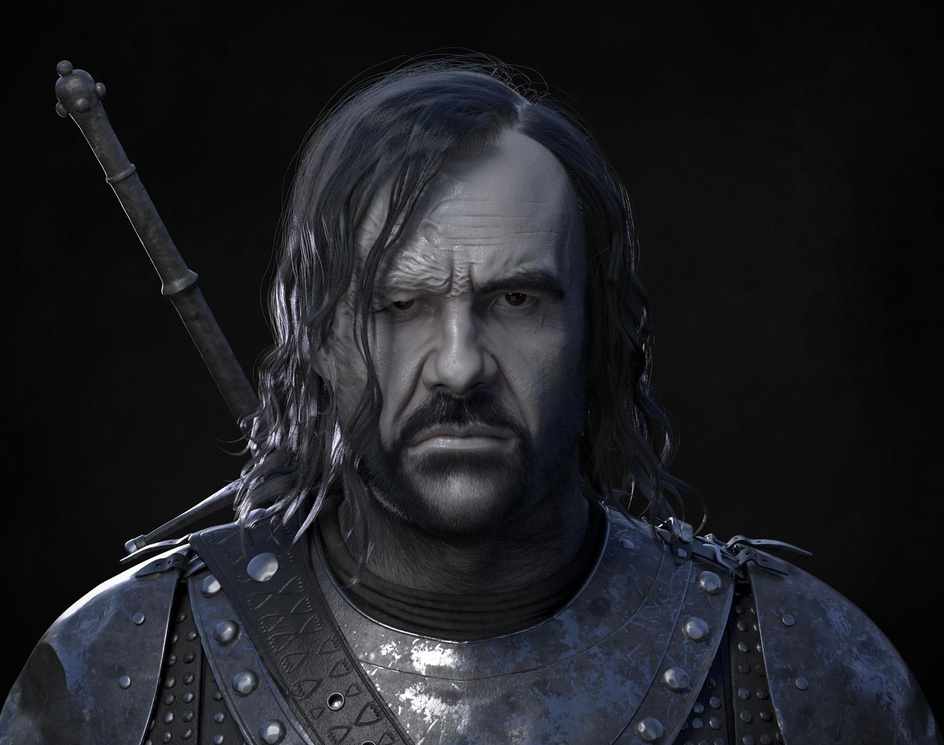 The Hound, a likeness and grooming exerciseby Bob3636