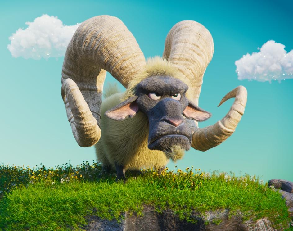 The Goat - Spyro Reignited Inspiredby Vinicius Tokue