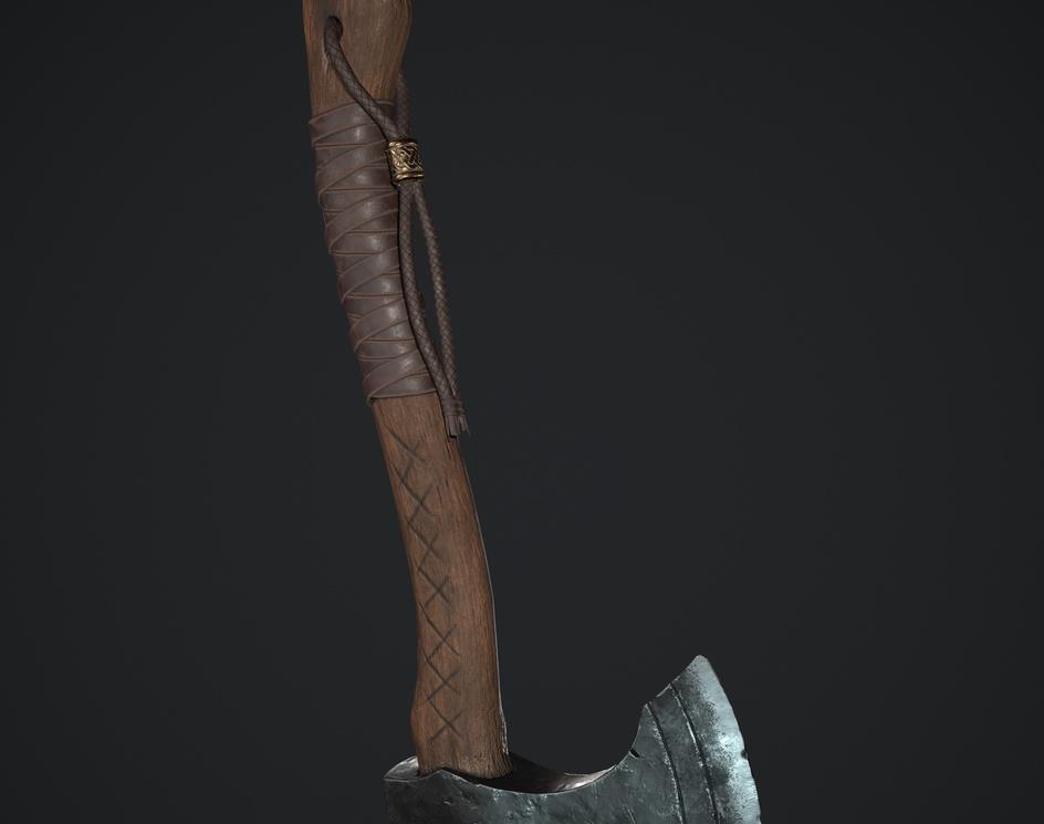 Viking Axe. My first artwork!by Artem Borisovich