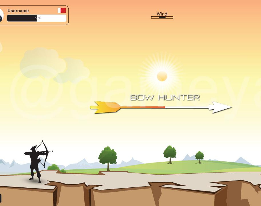 Bow Hunter – 2D multiplayer Game by 3D Game Art Studio – Austin, Texasby GameYan
