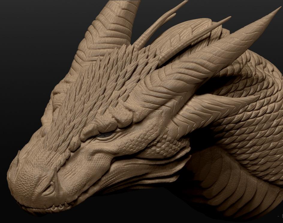 Dragon Headby Manvendra0