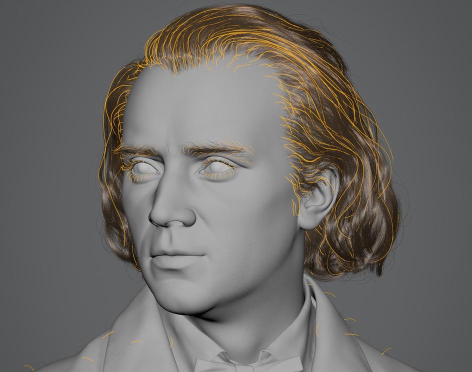 Johannes Brahms (1860)by Hadi Karimi