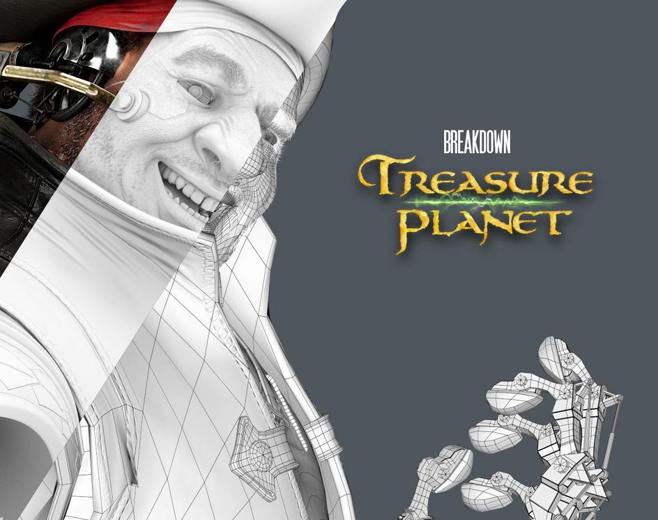 Treasure Planet | JOHN SILVERby Emerson ëCello
