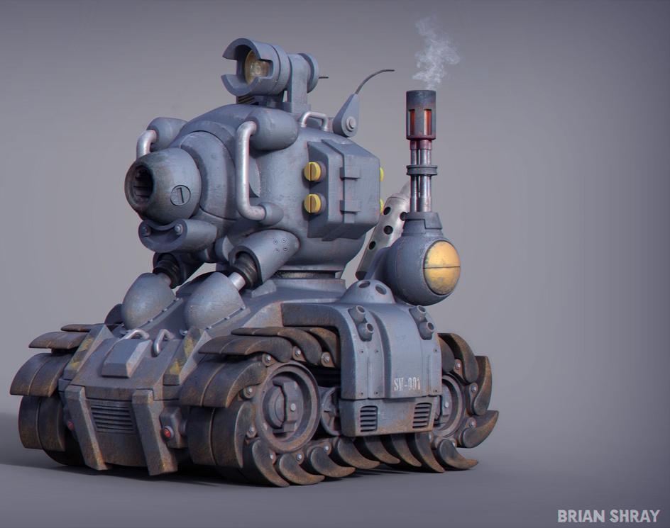 Metal Slug SV-001 Tankby BrianShray