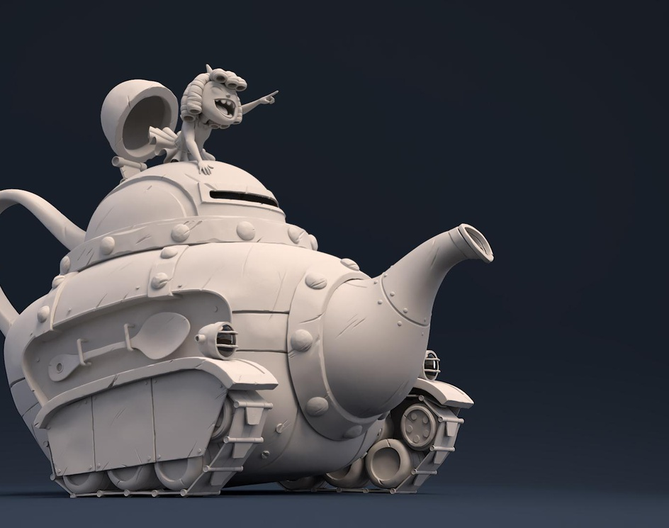 Teapot tankby Bricelaville