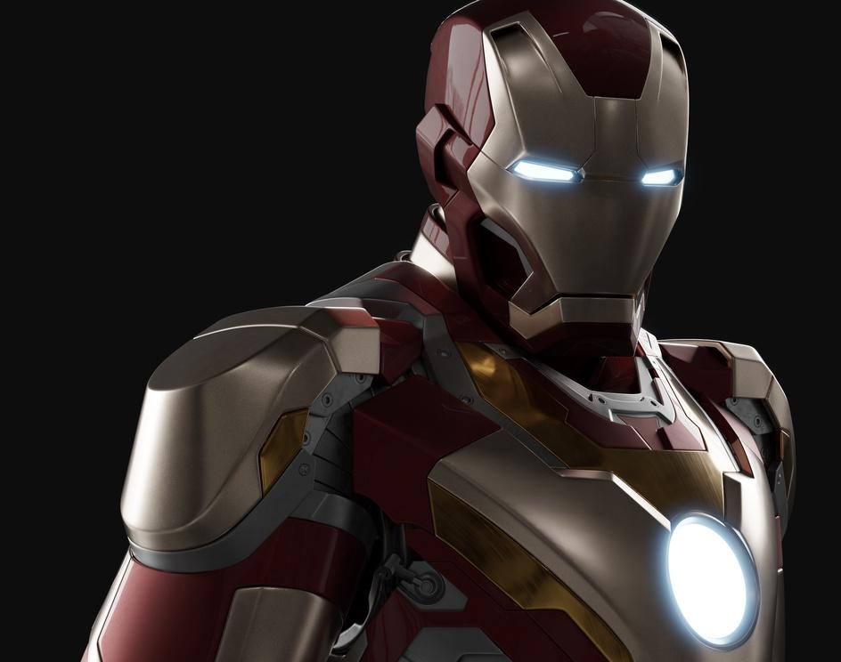 Iron Man Mk XVIIby Jacek
