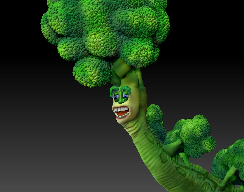 Broccolisaurusby Mr. Sean Abel