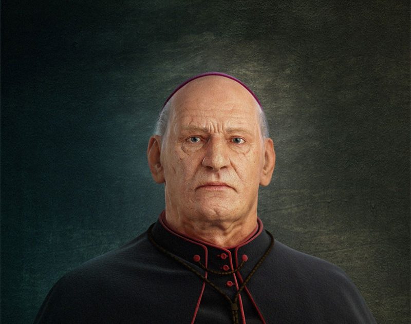 'The Portrait of a Bishop'by Bruno_Melo