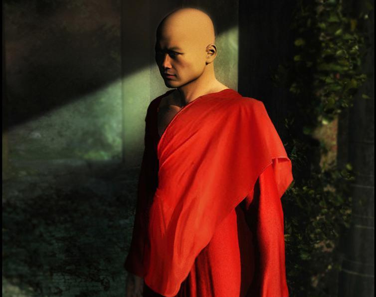 Buddhist Monkby rschlenker