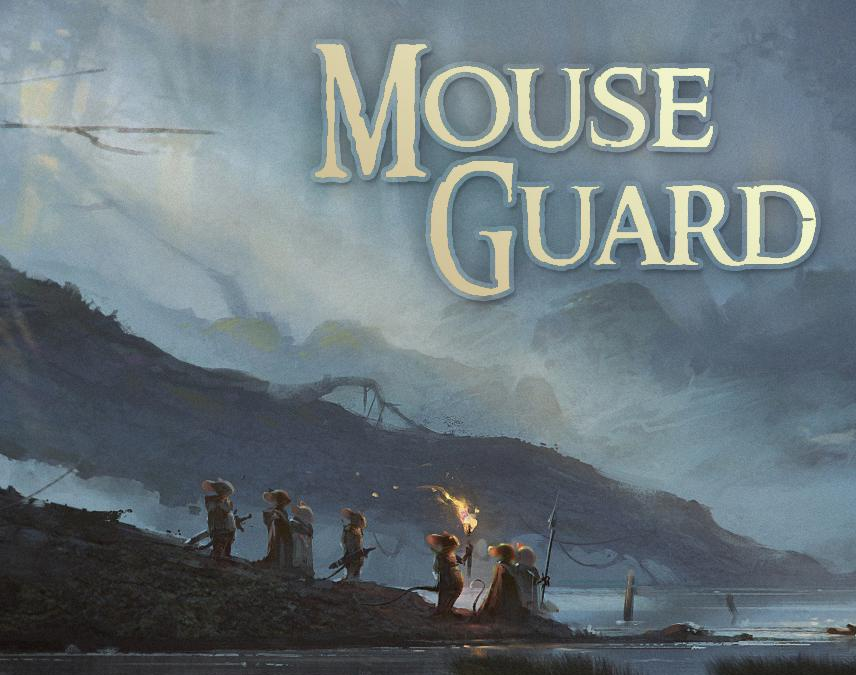Mouse Guard - Lockhaven - Burial After The Battleby HristoChukov