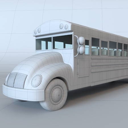 american school bus design