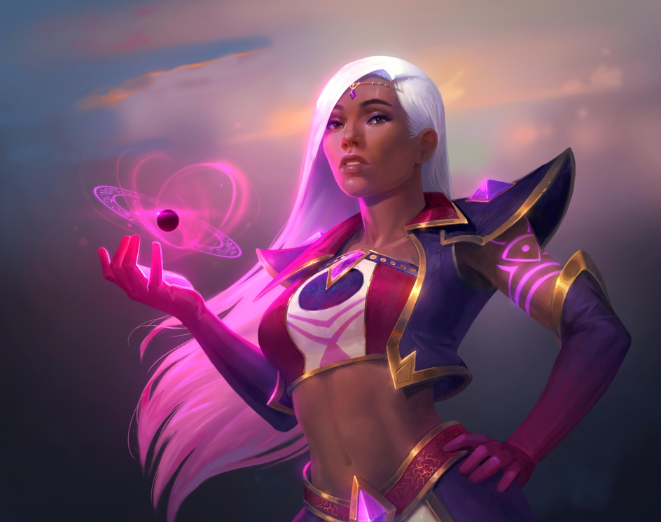 """""""Mage"""" by Jon Neimeisterby 3dtotal Publishing"""