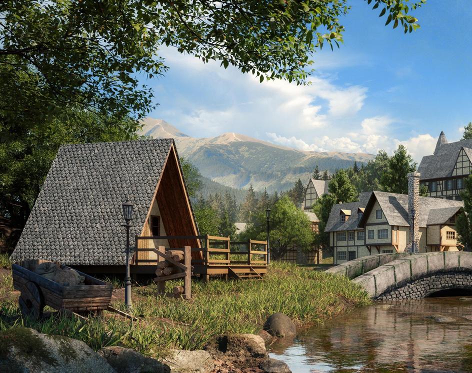 Medieval Villageby Fillipe Farias